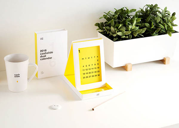 40个国外2017创意日历设计 设计之家