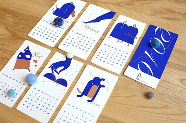 40个国外2017创意日历设计(2) - 设计之家