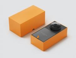 Oco智能监控摄像头包装设计