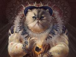 动物贵族:Christina Hess有趣的插画作品