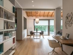 希臘Trikala北歐極簡風150平米住宅裝修設計
