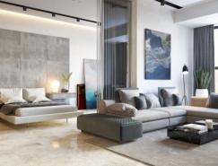 3个精致豪华气息的小公寓装修设计