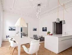 优雅纯白公寓装修设计