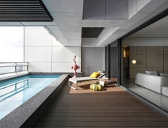 台灣淡水簡約風格豪華住宅裝修設計