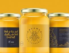 Creamed蜂蜜概念包裝設計