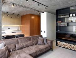 基辅50平米精致小公寓装修设计
