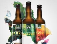 Upland Sour Ales创意啤酒包装设计