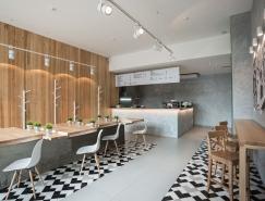 Kyoto咖啡餐厅品牌和室内设计