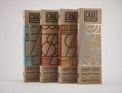 crude巧克力包装设计