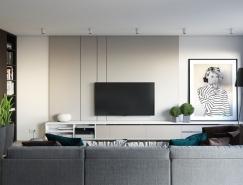 温馨优雅的一居室小户型装修皇冠新2网
