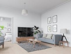 6个北欧简约漂亮的家居装修设计