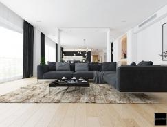 极简豪华的现代家居装修欣赏
