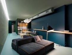 玩转色彩的魅力公寓空间设计