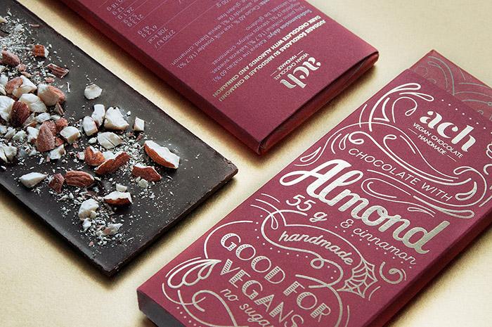 Ach巧克力包裝設計