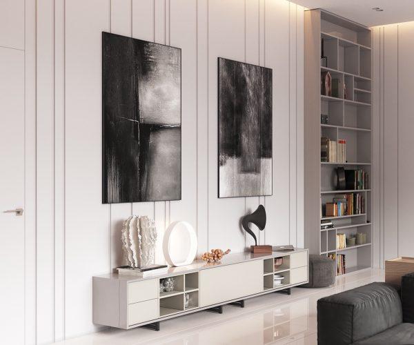 极简,简色,北欧风现代住宅装修设计