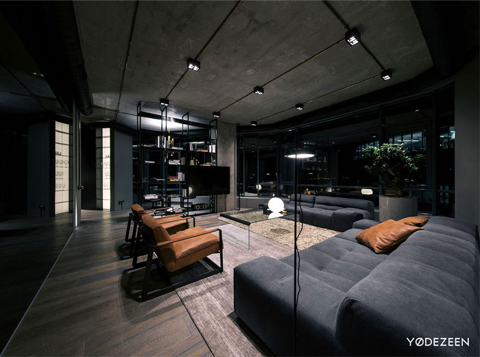 Image Result For Living Room With Dark Wood Walls