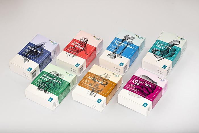 药品包装设计:zada膳食补充剂 设计之家