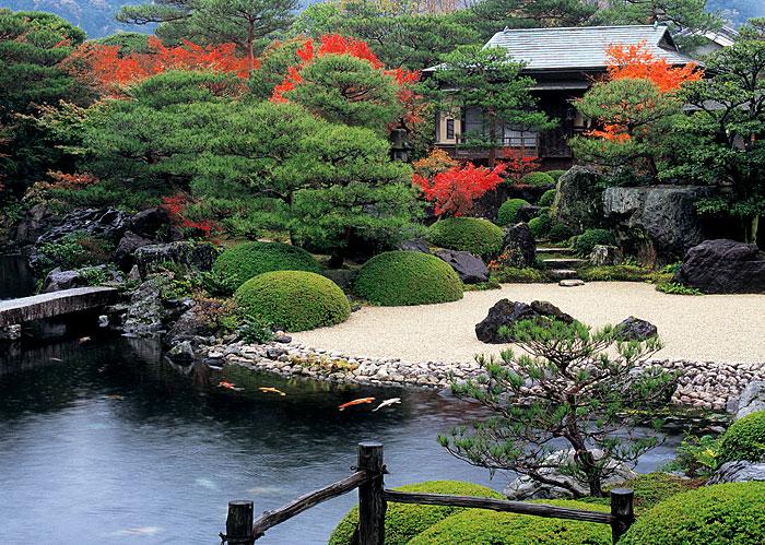 日式禅意花园景观设计欣赏 设计之家