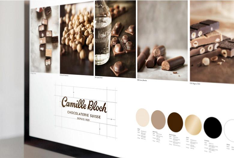 瑞士巧克力Camille Bloch更换新LOGO