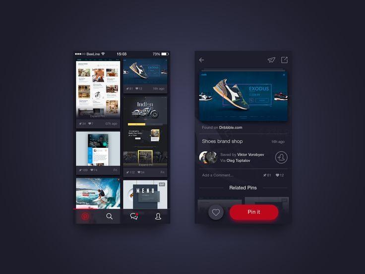 24个优质漂亮的UI/UX界面设计