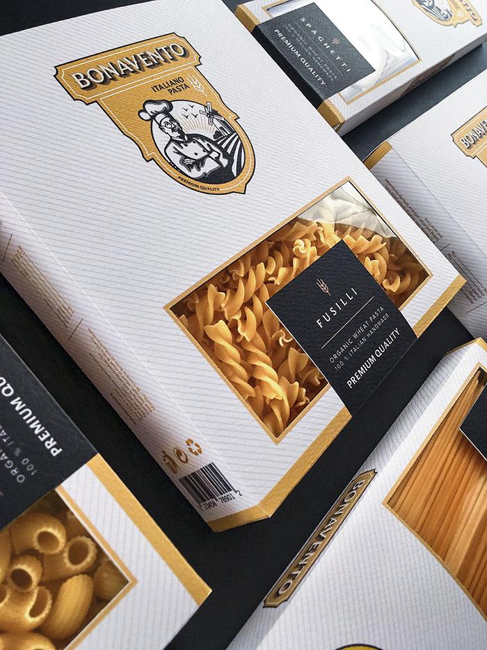 BONAVENTO意大利麵包裝設計
