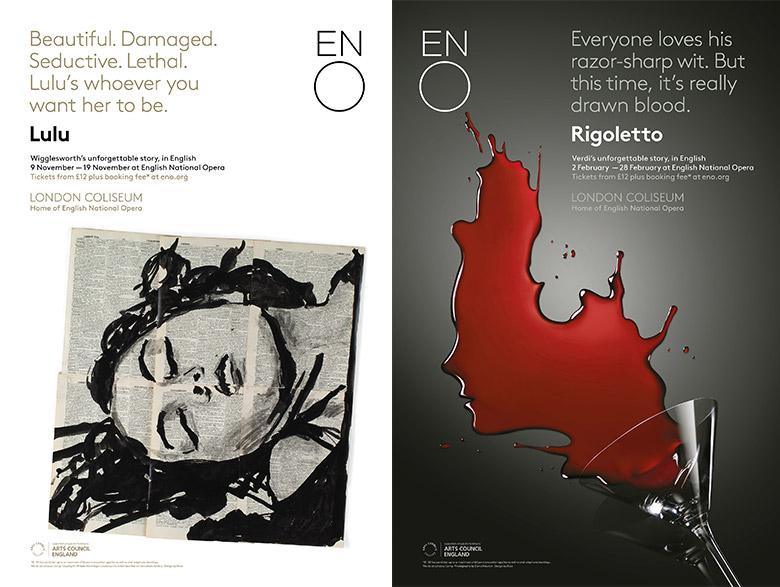 英国国家歌剧院重塑品牌形象,发布新LOGO