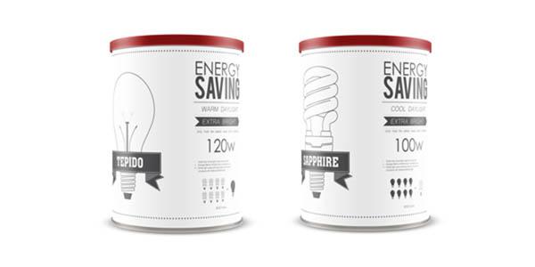 20個創意燈泡包裝設計欣賞