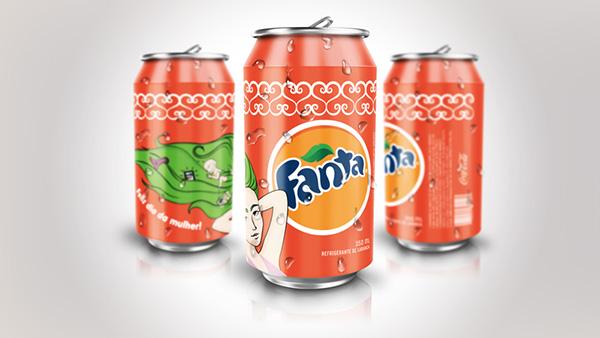 30款罐装饮料包装设计