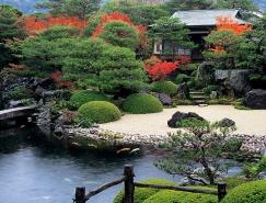 日式禪意花園景觀設計欣