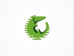 标志设计元素应用实例:鳄鱼