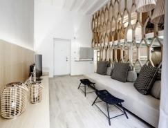 米兰精美简约三层公寓设计