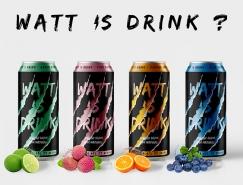 Watt is drink能量飲料包裝設計