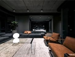 时尚黑暗系家居装修设计