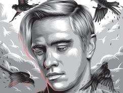 Aleksey Rico精美的插畫海報設計
