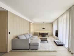 巴塞罗那极简的DM公寓设计