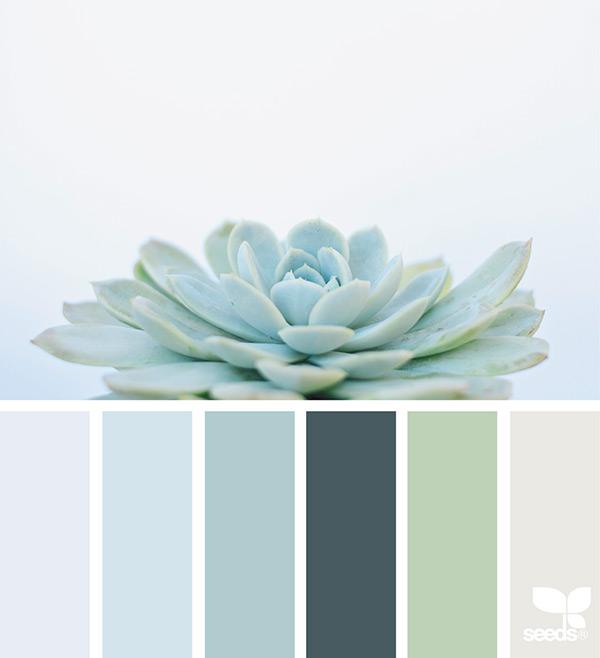来自大自然的配色哲学:小清新配色30例 2