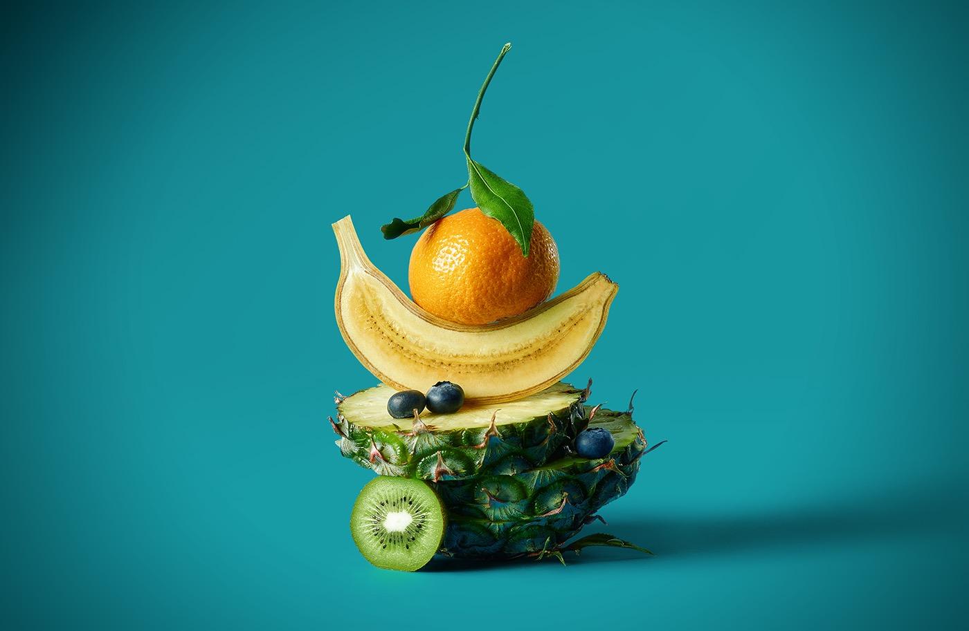16个精细的创意食物摄影作品