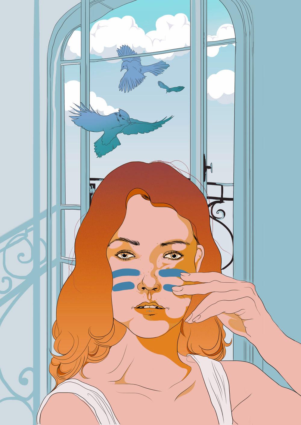 Janelle Barone漫画书风格插画作品欣赏