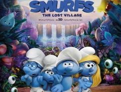 电影海报欣赏:蓝精灵:失落的村庄