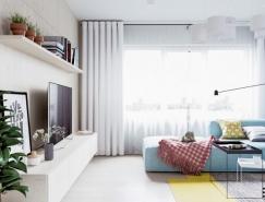 北欧风格温馨公寓设计