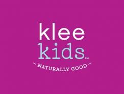 Klee儿童沐浴露和护理用品包装设计