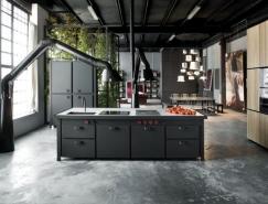 32个工业风格的厨房设计