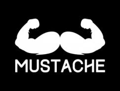 标志设计元素应用实例:胡子
