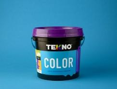 Tekno涂料包装设计