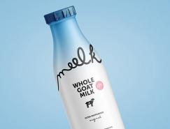 Meelk羊奶包裝設計