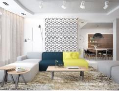 4个国外时尚一居室小公寓设计