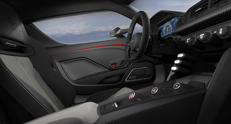 意大利著名设计公司Italdesign发布首款超跑