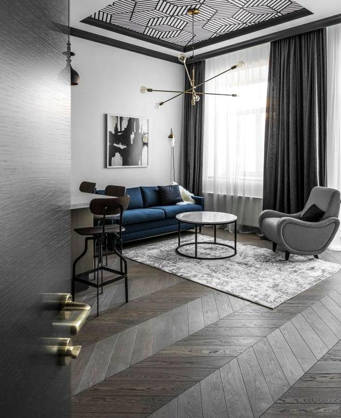 老房子家装_老房子改造的经典和现代风格的小公寓 - 设计之家