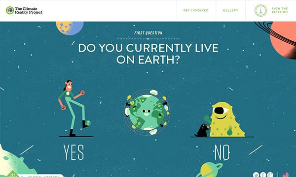 45个国外创意单页面网站设计