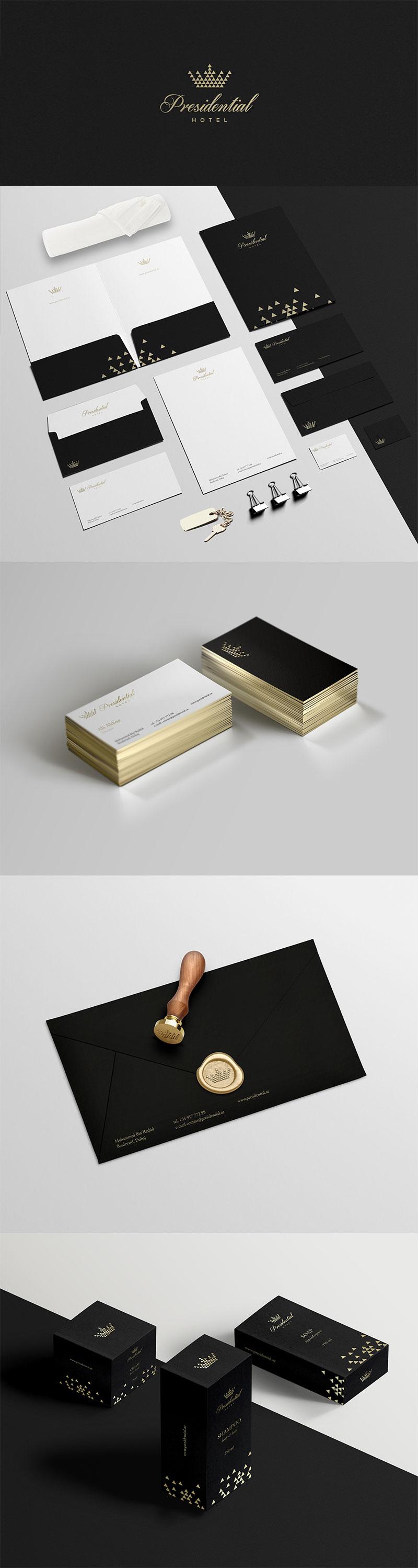 30个酒店品牌视觉形象设计作品集